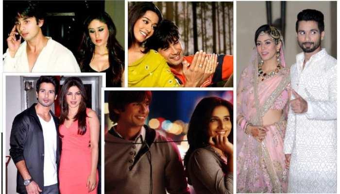 shahid kapoor affairs link up dating and relationship with kareena priyanka chopra and vidya balan