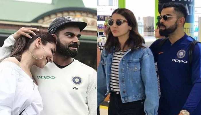 Virat Kohli wife Anushka Sharma reaches ahmedabad with daughter vamika india vs england