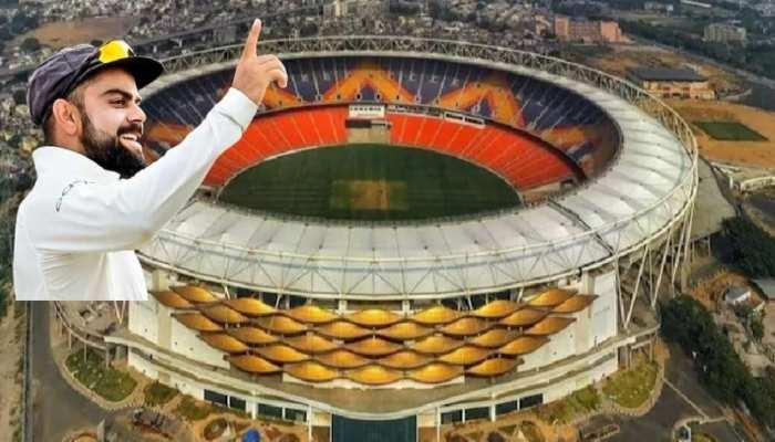 INDvENG: दुनिया के सबसे बड़े स्टेडियम में खेला गया द्वितीय विश्वयुद्ध के बाद का सबसे छोटा मैच