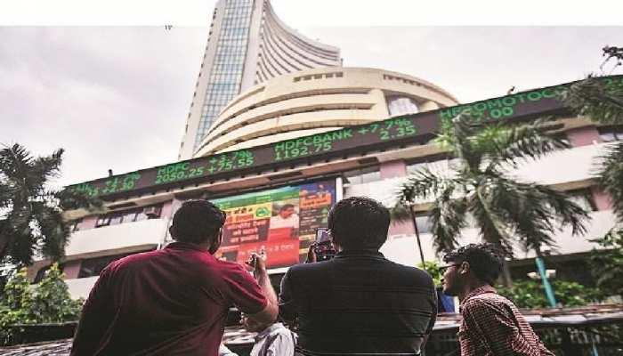 भारतीय शेयर बाजार धड़ाम, सीरिया पर अमेरिका के हमले से सहमा बाजार, सेंसेक्स 50,000 के नीचे फिसला