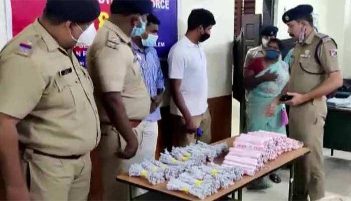 Kerala: कोझिकोड में ट्रेन से जिलेटिन की 100 छड़ें और 350 डेटोनेटर बरामद, महिला आरोपी ने किया ये खुलासा