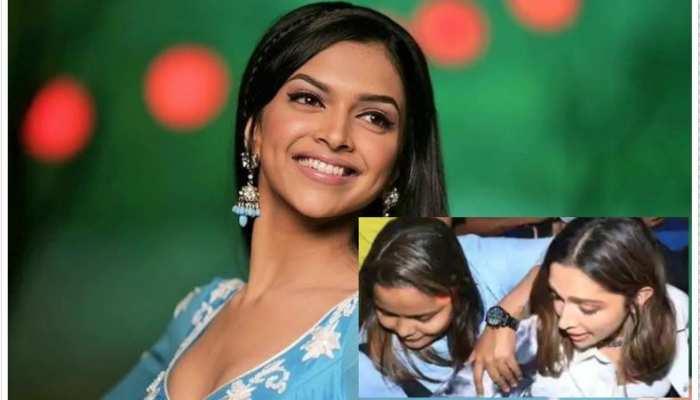 जब भीड़ से घिरी Deepika Padukone, महिला ने हाथ से खींचा बैग