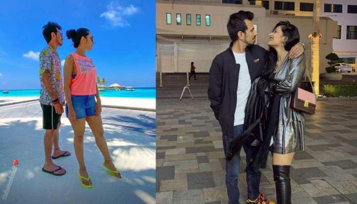 Yuzvendra Chahal and Dhanashree enjoying their 2nd honeymoon in maldives