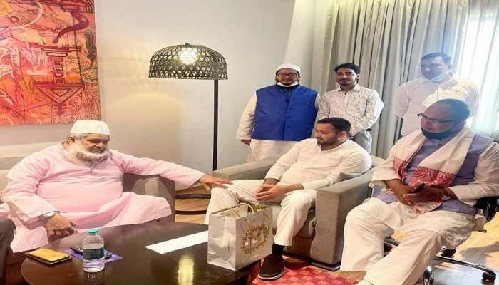 Bihar की तरह असम में बनेगा महागठबंधन! तेजस्वी यादव ने बदरुद्दीन अजमल से की मुलाकात
