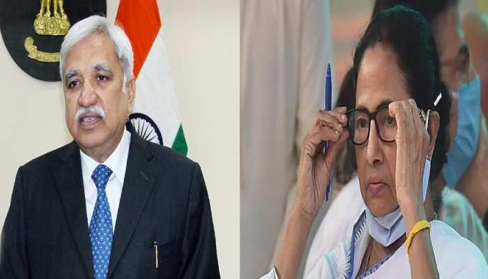 Bengal Election 2021: CM ममता को बड़ा झटका, चुनाव आयोग ने ADG लॉ एंड ऑर्डर को हटाया