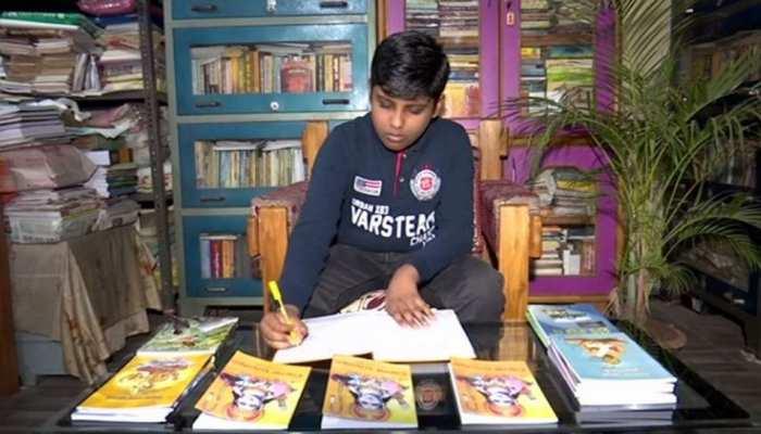 Odisha: 10 साल की उम्र में बच्चे ने लिखी Ramayana, Lockdown में टीवी पर देखा था सीरियल