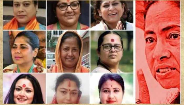 Bangal Election 2021 Know who are the nine women of BJP who will give competition to Mamta Didi