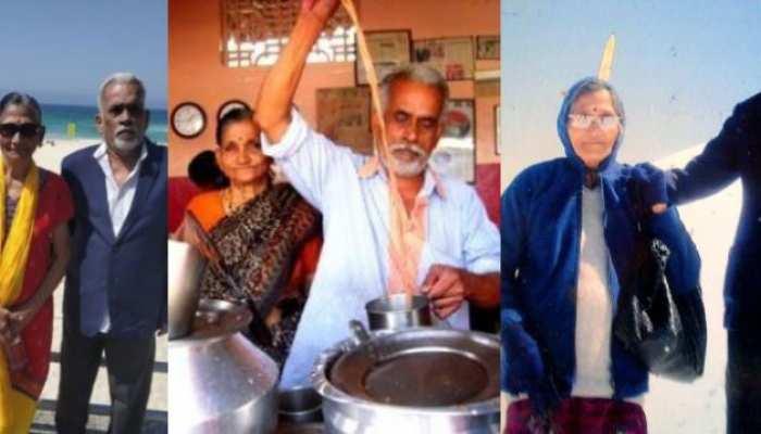 एक बुजुर्ग दंपत्ति की कहानी जिसने चाय बेचकर कर की 32 देशों की यात्रा