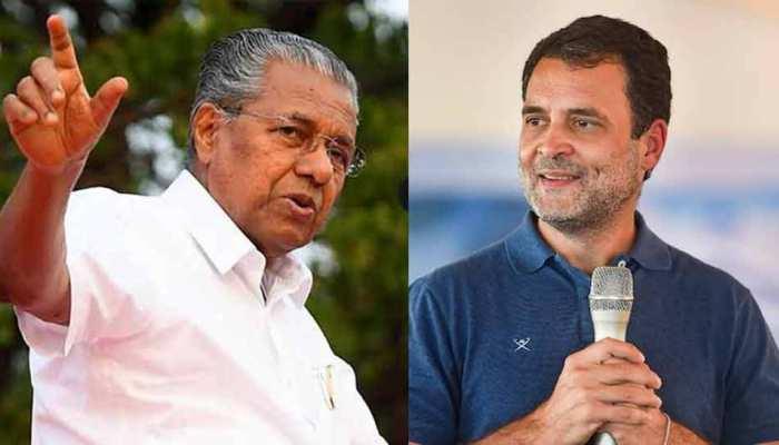 Rahul Gandhi पर फिर बरसे Kerala के मुख्यमंत्री, कहा- उन राज्यों में क्यों नहीं जाते, जहां बीजेपी से सीधा मुकाबला