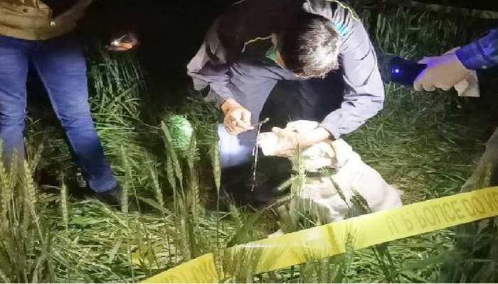 नाबालिग किशोरी का खेत में मिला था शव, ग्रामीणों और पुलिस के बीच झड़प के बाद दर्ज हुआ केस