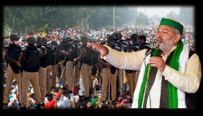 Farmers protest: टिकैत का टाइम खत्म, अब टिकरी में बजेंगे लट्ठ!