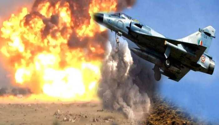 VIDEO: वायुसेना के Mirage और Sukhoi जेट्स ने ग्वालियर से भरी उड़ान, 615KM दूर टारगेट तबाह