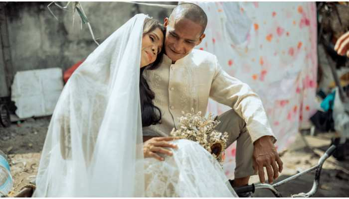 philippines dream wedding of homeless couple gets fairytale wedding to remember