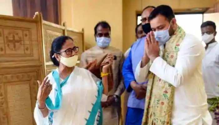 West Bengal Assembly Election 2021: ममता से मिलने के बाद बोले तेजस्वी- TMC के लिए लगा दूंगा पूरी ताकत