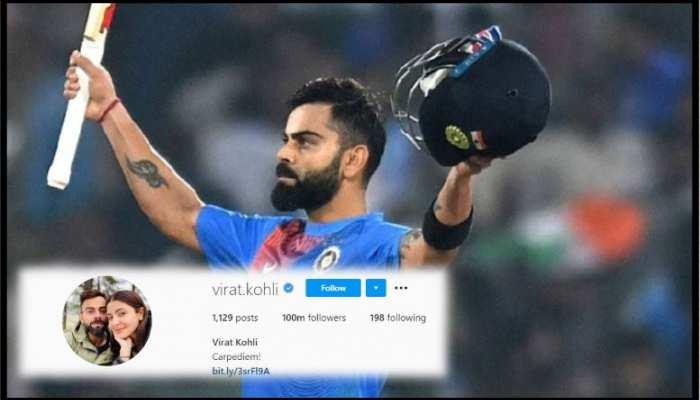 इंस्टाग्राम पर Virat Kohli ने जड़ा शतक, दर्ज किया नया रिकॉर्ड
