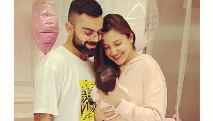Indian Cricketrs who blessed with a daughter child Virat Rohit Pujara Raina Sachin Dhoni