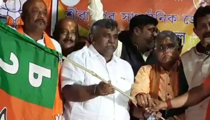 Mamta Banerjee को एक और झटका, विधायक Jitendra Tiwari, बीजेपी में शामिल