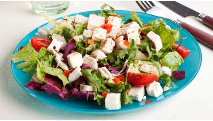 Healthy Recipe: लंच में खाइए Paneer Vegetable Salad, स्वाद के साथ Weight Loss में भी मिलेगी मदद