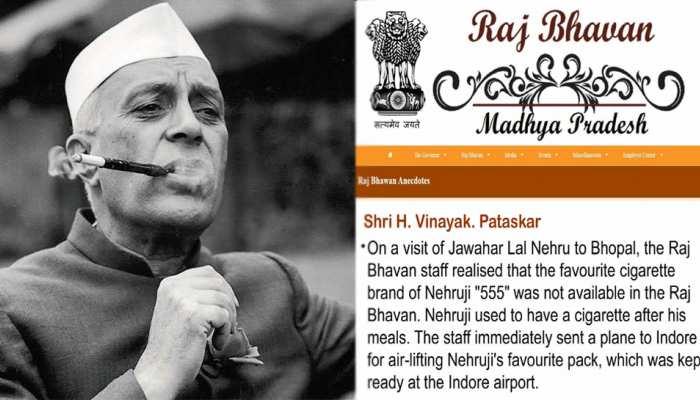''पूर्व PM नेहरू पीते थे 'ब्रैंड 555' की सिगरेट, मंगाने के लिए भोपाल से इंदौर भेजा गया था प्लेन''