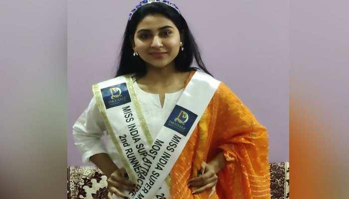 मध्य प्रदेश की बेटी को पहले ही प्रयास में मिली बड़ी सफलता, नेशनल इंडिया सुपर मॉडल में जीता रनरअप का खिताब
