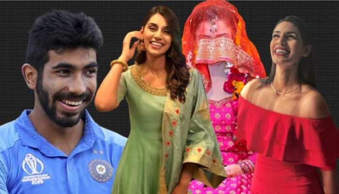 jasprit bumrah going to married with this beautiful sports TV Presenter sanjana Ganesan