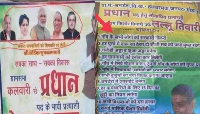 Viral Memes: जरा प्रधान तो बनाइए- 'पूरे गांव को सरकारी नौकरी दिलाऊंगा, बुजुर्गों की शादी रचाऊंगा'