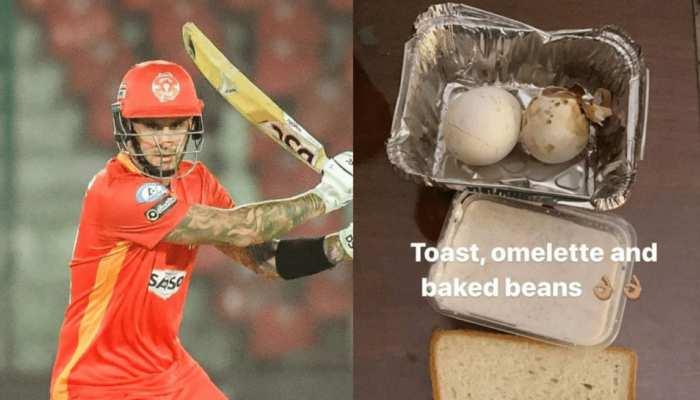 PSL 6: Alex Hales ने की Pakistan Cricket Board की फजीहत. नाश्ते में मिले सड़े अंडे और ब्रेड