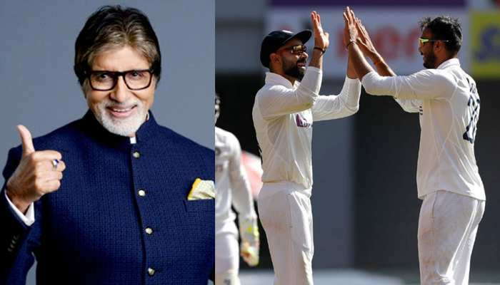 IND VS ENG: भारतीय गेंदबाजों के प्रदर्शन के बाद खुद को नहीं रोक पाए Amitabh Bachchan, कर दिया ये मजेदार ट्वीट