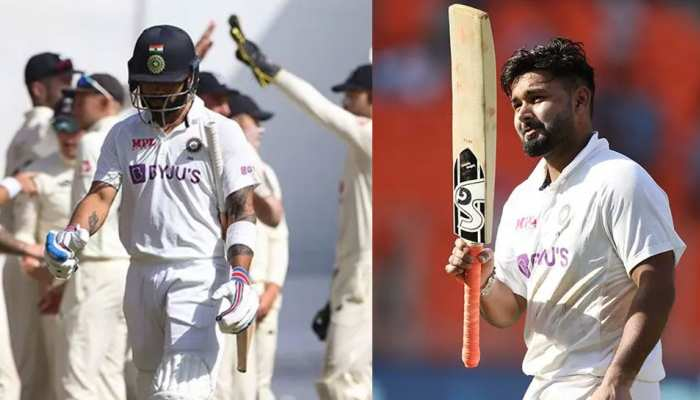 IND vs ENG, 5 Big Moments of Day 2 of 4th Test, Virat Kohli Duck, Rishabh Pant Century, Washington Sundar, Rohit Sharma, Ben Stokes, India vs England, Ahmedabad Test