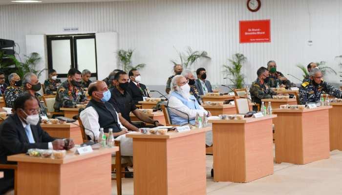 कमांडर्स कॉन्फ्रेंस में PM मोदी ने की सेना की तारीफ, कहा- आपका साहस अनूठा