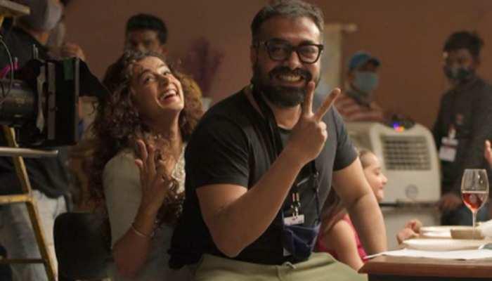 तापसी पन्नू की गोद में बैठकर अनुराग कश्यप ने शेयर की PHOTO, लिखी यह बड़ी बात