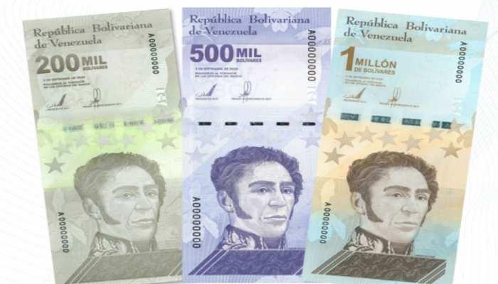 Venezuela ने जारी किया अब तक का सबसे बड़ा 10 Lakh Bolivar का नोट, Inflation के चलते लिए फैसला