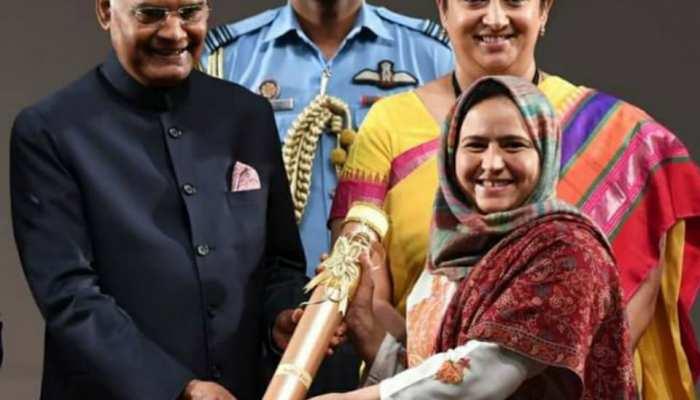 International Women's Day 2021 : कश्मीर की आरिफा के जज्बे को सलाम, इस काम के लिए मिल चुका है राष्ट्रपति से सम्मान