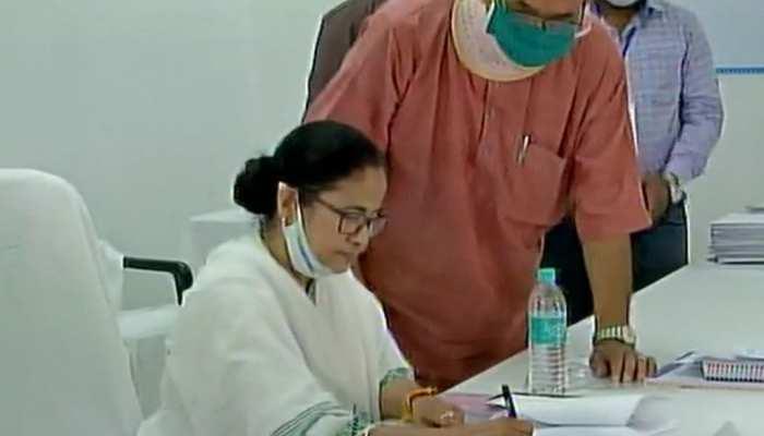 Bengal Election: हल्दिया में नंदीग्राम सीट के लिए ममता ने किया नामांकन