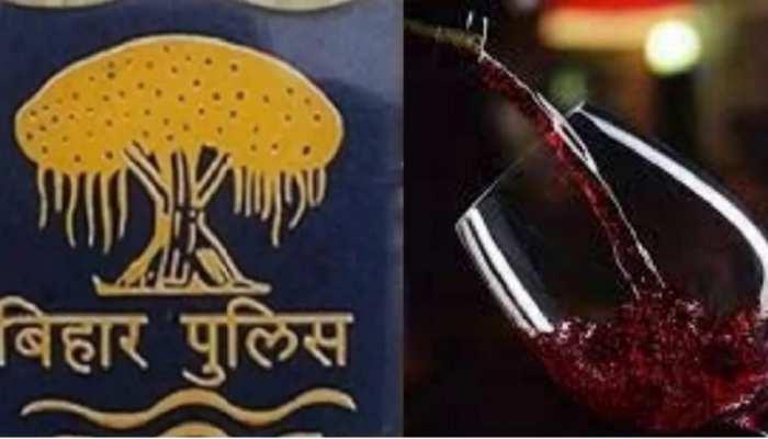 बिहार में ASI ने शराबबंदी का बनाया 'मजाक', DIG के सामने नशे में झुमते हुए पहुंचा