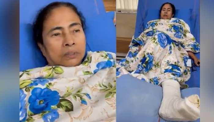 व्हील चेयर से प्रचार करेंगी Mamata Banerjee, अस्पताल से VIDEO जारी कर कही यह बात
