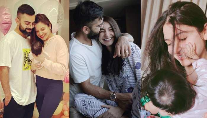 2 महीने की हुई Virat Kohli-Anushka Sharma की बेटी Vamika, कपल ने इस खास अंदाज में किया सेलिब्रेट