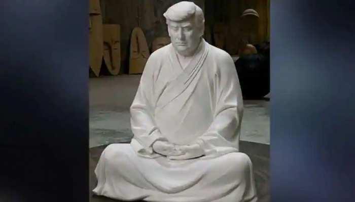 Donald Trump ने जिस China के होश ठिकाने लगाए थे, वहां बिक रही हैं उनकी Buddha वाली प्रतिमाएं