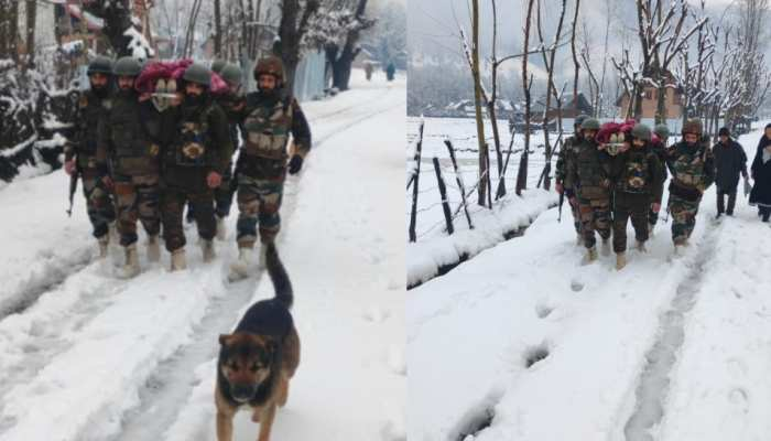 भारी बर्फबारी के बीच गर्भवती महिला के लिए  देवदूत बनी Indian Army, ऐसे पहुंचाया अस्पताल