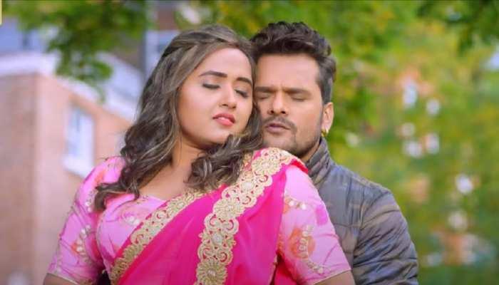 Bhojpuri Song: विवादों के बीच एक बार फिर साथ नजर आए Khesari Lal Yadav और Kajal Raghwani