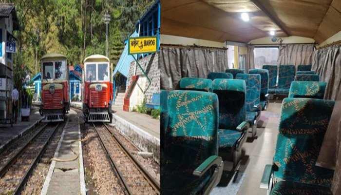 एतिहासिक कालका-शिमला रेल मार्ग पर अब ट्रेन के साथ टैक्सी भी पटरी पर दौड़ेगी