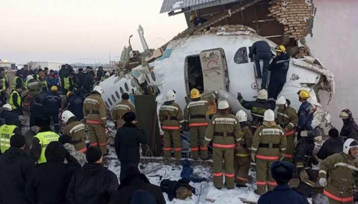 Kazakhstan में लैंडिंग के दौरान क्रैश हुआ सेना का विमान, क्रू मैंबर्स के 4 सदस्यों की मौत