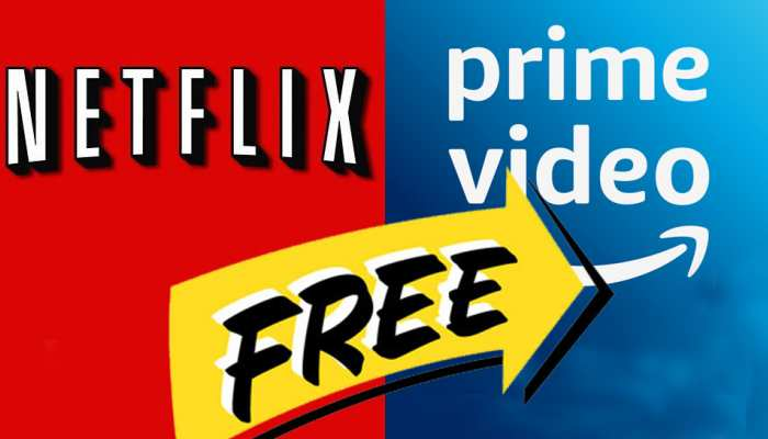 Get Free Subscription of Netflix and Amazon Prime on Jio, vi and Airtel plans