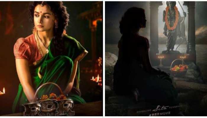 फिल्म RRR से आलिया का लुक हुआ आउट, सीता के किरदार से जीतेंगी दिल