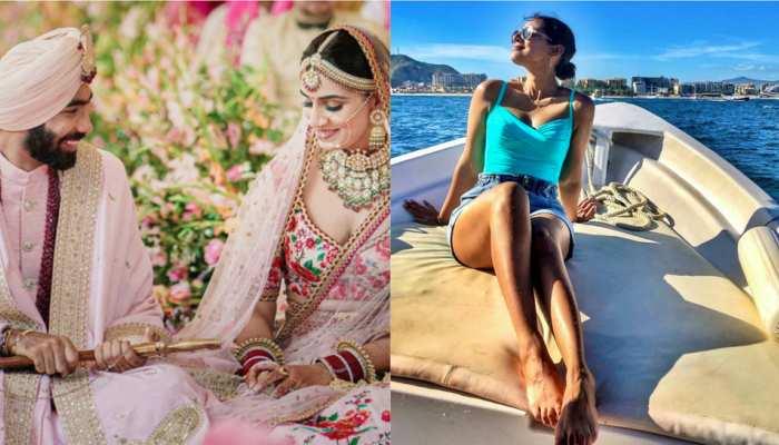 बेहद खूबसूरत हैं Jasprit Bumrah की वाइफ Sanjana Ganesan, देखिए उनकी 10 बेहद ग्लैमरस तस्वीरें