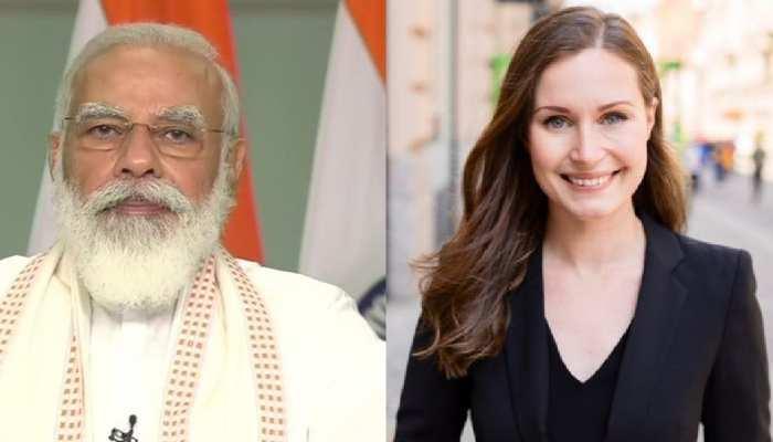 फिनलैंड की प्रधानमंत्री Sanna Marin के साथ वर्चुअल समिट में शामिल होंगे PM Modi, इन मुद्दों पर होगी चर्चा