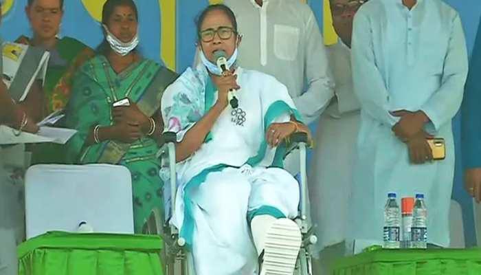 मुख्यमंत्री ममता बनर्जी ने बीजेपी पर लगाया यह आरोप, कहा- हम बंगाल में बाहरी गुंडों को चुनाव नहीं लड़ने देंगे