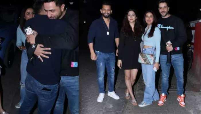 अपनी-अपनी लेडी लव के साथ डिनर डेट पर पहुंचे Ali Gony और Rahul Vaidya