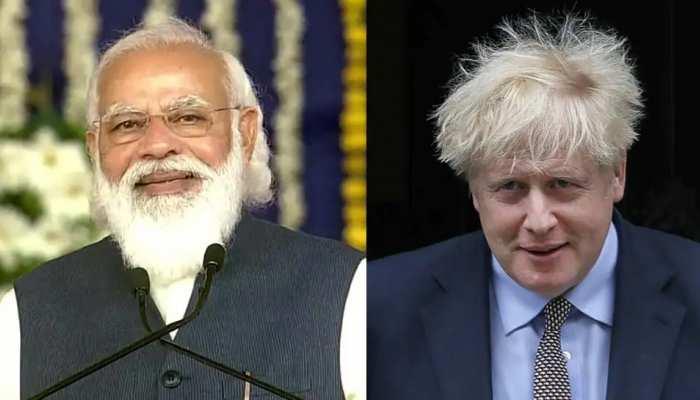 Boris Johnson ने भारत दौरे से पहले की PM Modi की तारीफ, Global Warming से जंग में नेतृत्व को सराहा