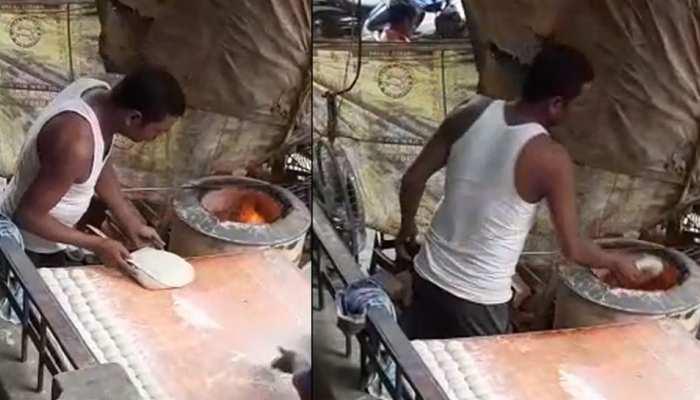 VIRAL VIDEO: थूक लगाकर रोटियां बनाने वाले एक और शख्स का वीडियो वायरल, Delhi Police ने पकड़ा